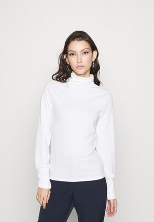 COSY ROLL NECK - Topper langermet - off white
