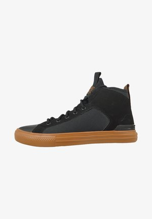 Sneaker high - black/warm tan