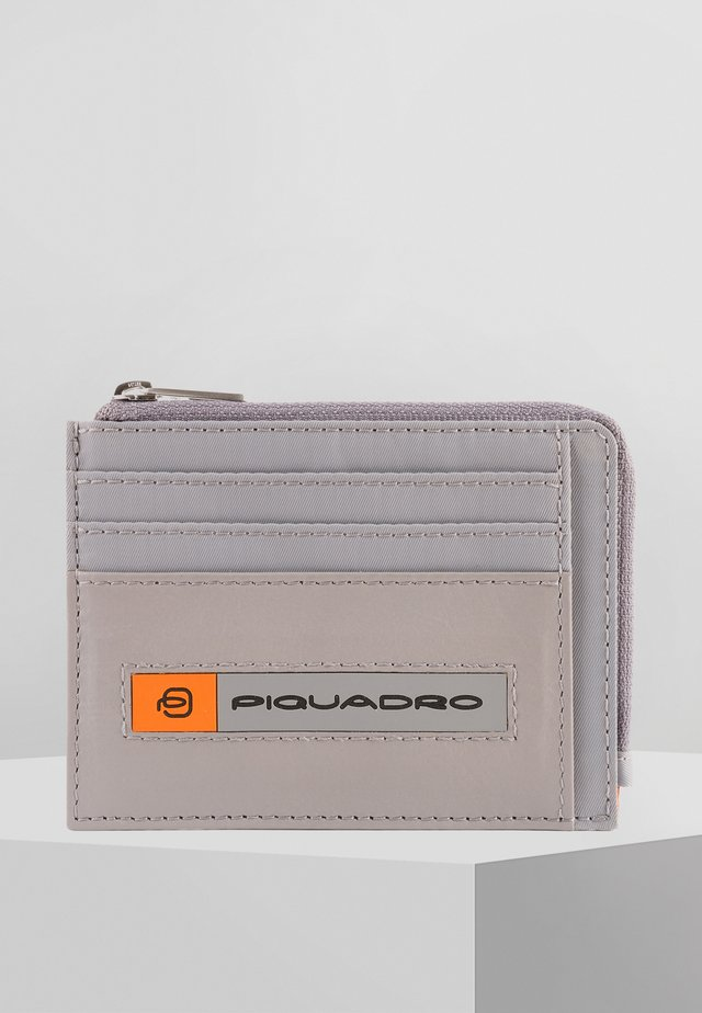 PQ-BIOS - Business card holder - grey