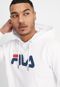 Fila - PURE HOODY - Sweat à capuche - bright white - 5