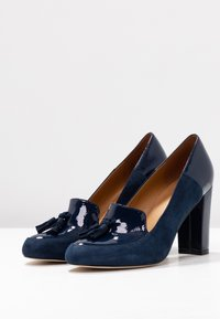Anna Field - LEATHER - Avokkaat - dark blue - 4