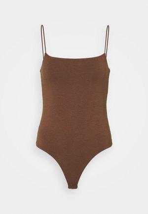 BARE BODYSUIT - Top - brown