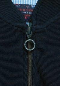 Cecil - Zip-up sweatshirt - blau - 3