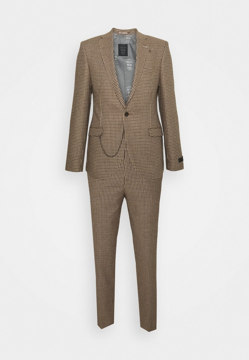 Shelby & Sons - CAITHNESS SUIT - Kostym - tan