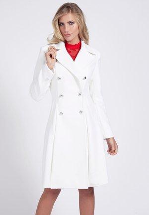 Manteau classique - weiß