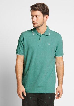 Polo shirt - emerald melange