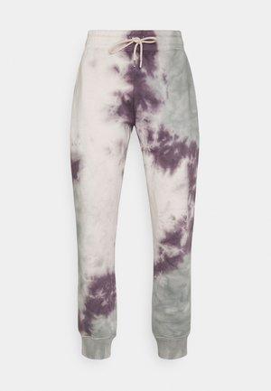 TIE DYE JOGGER - Teplákové kalhoty - lilac