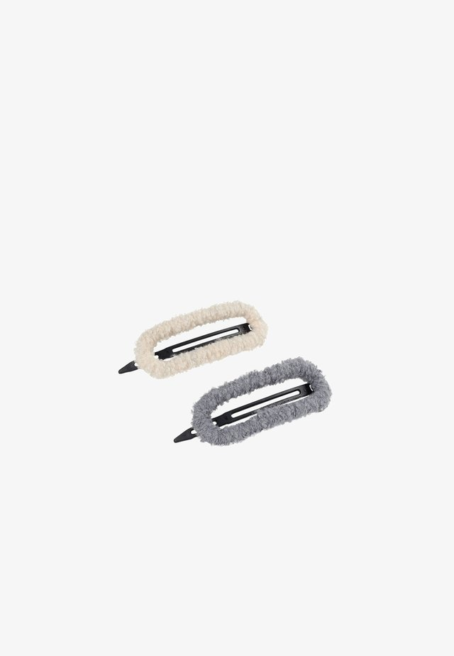2 PACK - Hair styling accessory - beige