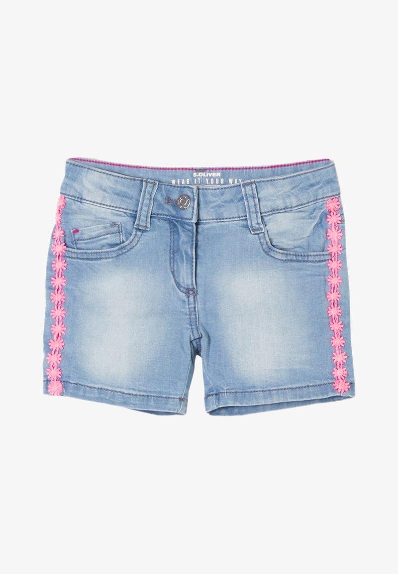 s.Oliver - Denim shorts - blue denim