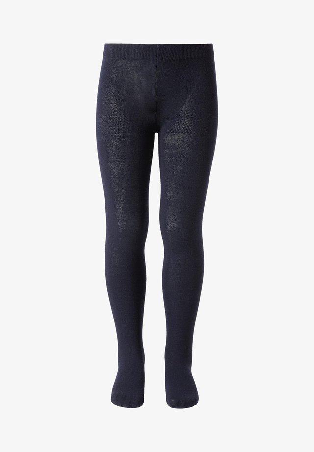 Leggings - Stockings - blu