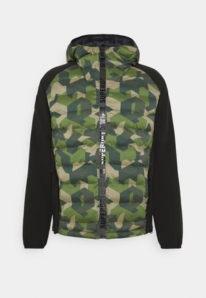 MOTION RADAR HOODED HYBRID - Veste softshell - dark green