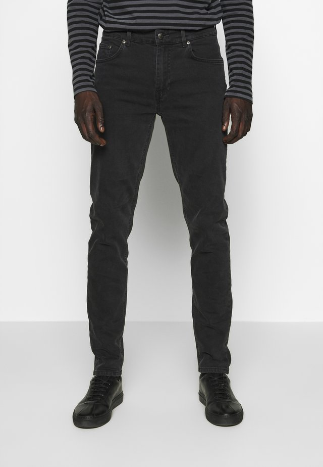 DEAN - Džíny Slim Fit - charcoal