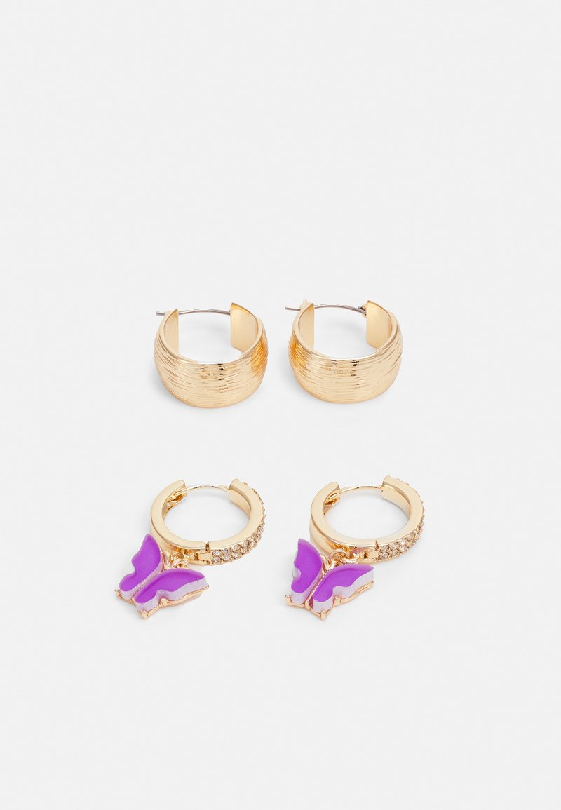 Monki - EVERY EARRINGS 2 PACK - Korvakorut - gold-coloured