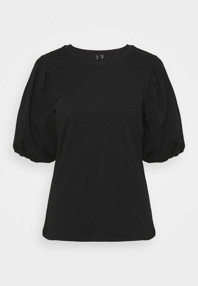 VMJOSE VOLUME - Basic T-shirt - black