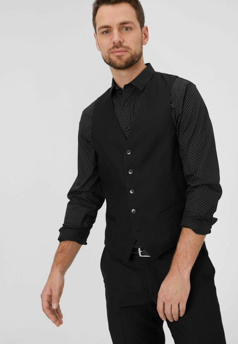 C&A - Suit waistcoat - black