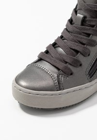 Geox - KALISPERA GIRL - Zapatillas altas - dark grey - 5