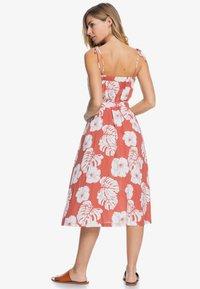 Roxy - NOWHERE TO HIDE - Day dress - marsala - 1