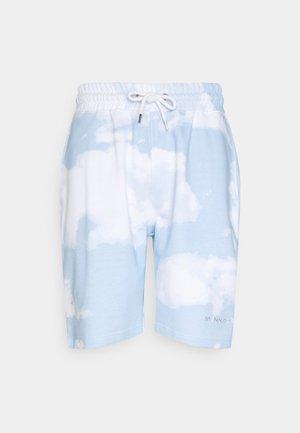SUNDAZE CLOUD REGULAR UNISEX - Shorts - blue