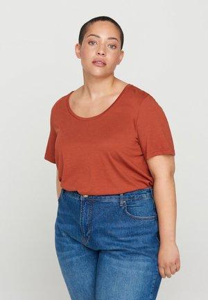 Blouse - dark orange