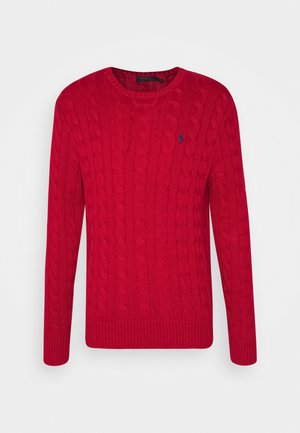 CABLE - Pullover - park avenue red
