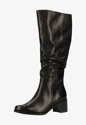 Boots - black antic 002