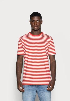 ONSJAMIE LIFE SS STRIPE REG TEE NOO - Print T-shirt - high risk red