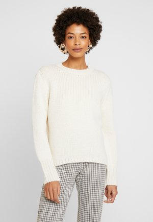SLIGHTLY OVERSIZE - Jumper - natural white