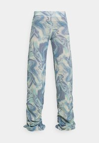 Jaded London - RUCHED JOGGER MARBLE - Joggebukse - blue mix - 4