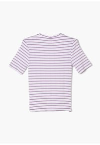 s.Oliver - Print T-shirt - lilac stripes - 1