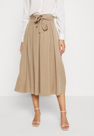 ARABELLA SKIRT - A-line skirt - silver mink