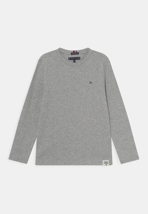ESSENTIAL SOLID TEE  - Long sleeved top - light grey heather