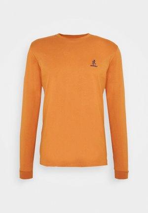 BIG RUNNINGMAN TEE - Long sleeved top - orange