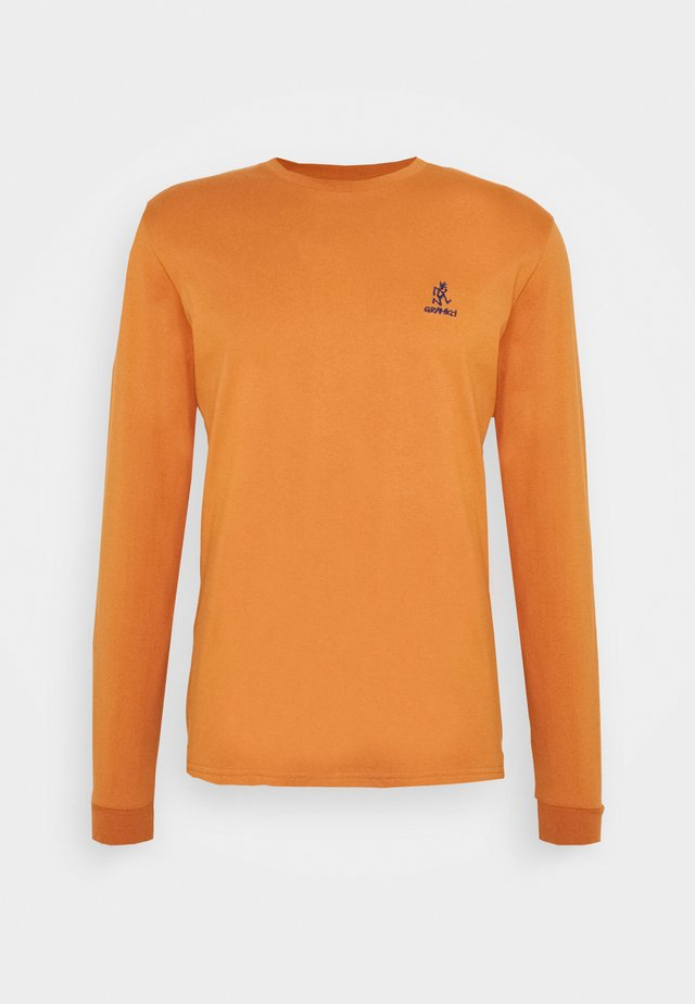 BIG RUNNINGMAN TEE - Long sleeved top - orange