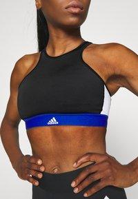 adidas Performance - VARSITY BRA - Urheiluliivit: keskitason tuki - black - 3