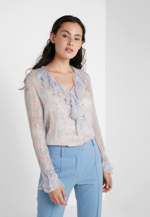 Blouse - multicolor/grey