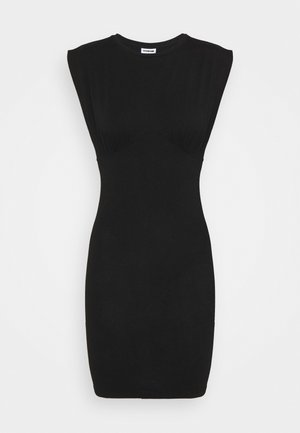 NMGENNIE DETAIL DRESS - Jersey dress - black