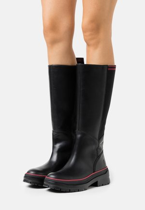MALYNN TALL BOOT WP - Boots - black