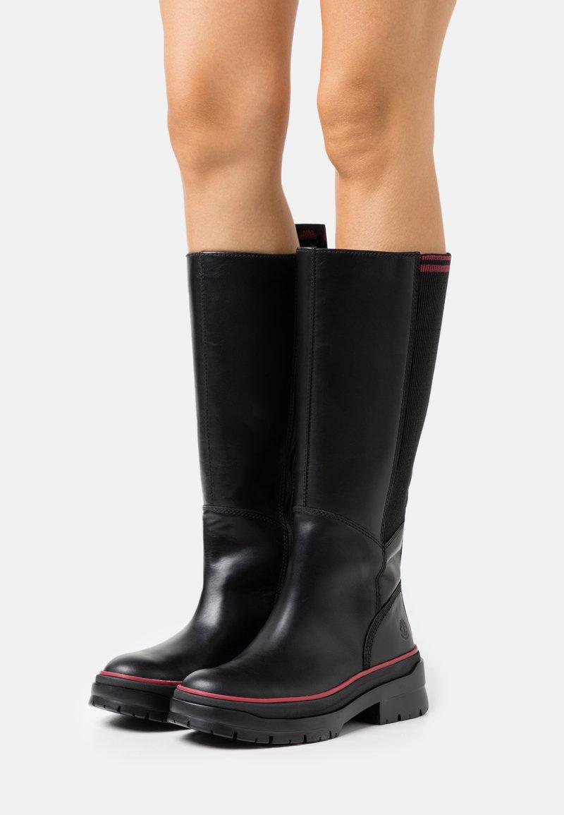 Timberland - MALYNN TALL BOOT WP - Boots - black