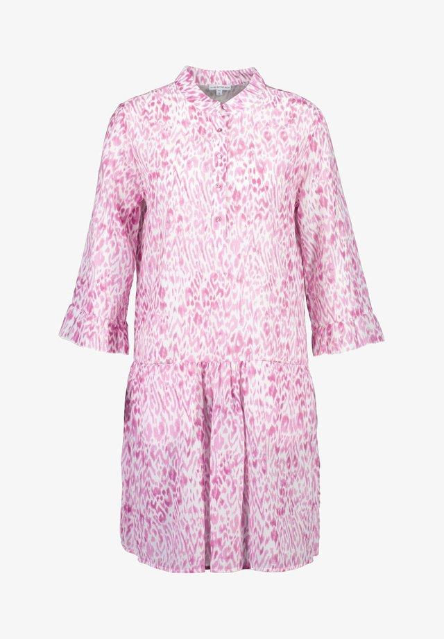 Shirt dress - pink animal