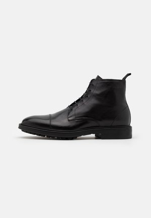 CUBITT - Bottines à lacets - black