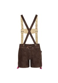 Almsach - Leather trousers - braun - 1
