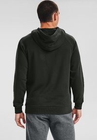 Under Armour - RIVAL  - Hoodie - baroque green - 2