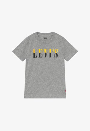 GRAPHIC TEE - T-shirt print - grey heather
