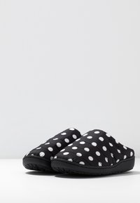 SUBU - SUBU SLIP ON - Klapki - black/white - 2