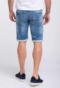 Petrol Industries - Denim shorts - light-blue - 2