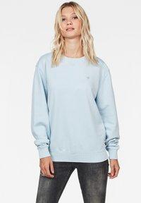 G-Star - LOOSE ROUND - Sweatshirt - laundry blue - 0