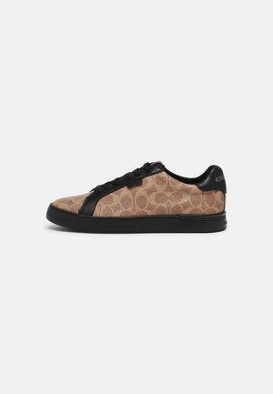 SIGNATURE - Sneakersy niskie - tan/black