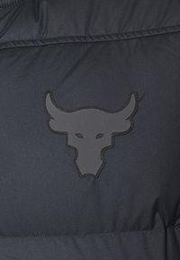 Under Armour - PROJECT ROCK  - Sportovní bunda - black - 2