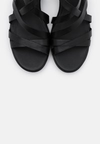 ECCO - SHAPE - Wedge sandals - black santiago