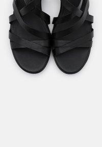 ECCO - SHAPE - Sandaler m/ kilehæl - black santiago - 5